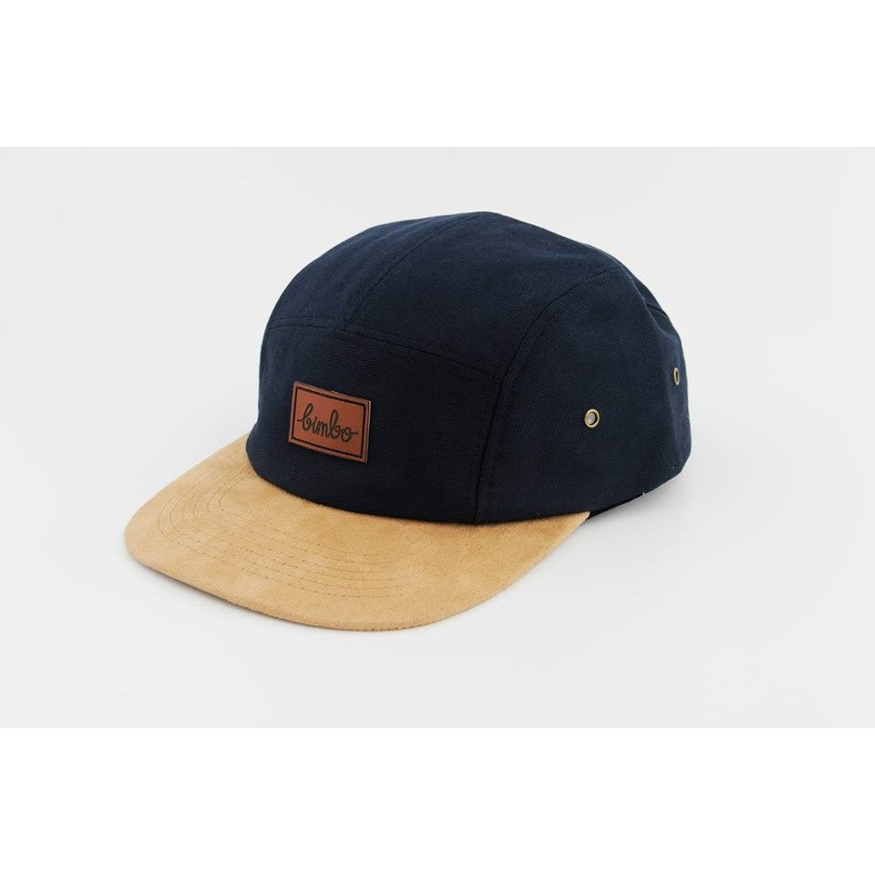 Dark Blue 5panel - Bimbo clothing - Christmas Gifts - Cadeaux Noel - The best Swiss online department store!