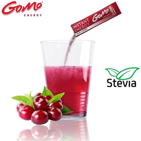 GoMo ENERGY Sour Cherry ( 30 Singleservings) - GoMo ENERGY - Christmas Gifts - Cadeaux Noel - The best Swiss online department store!