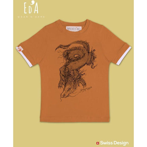 T-shirt Dragon - EMPREINTE D'ANGE - Christmas Gifts - Cadeaux Noel - The best Swiss online department store!