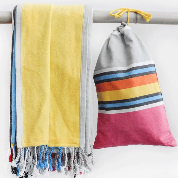 Pestemal Sinfonia Including Practical Storage Bag - Jaliya Finest Towels & More - Christmas Gifts - Cadeaux Noel - The best Swiss online department store!