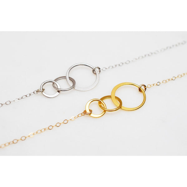 Triple Circle Bracelet - NKdesigns - Christmas Gifts - Cadeaux Noel - The best Swiss online department store!