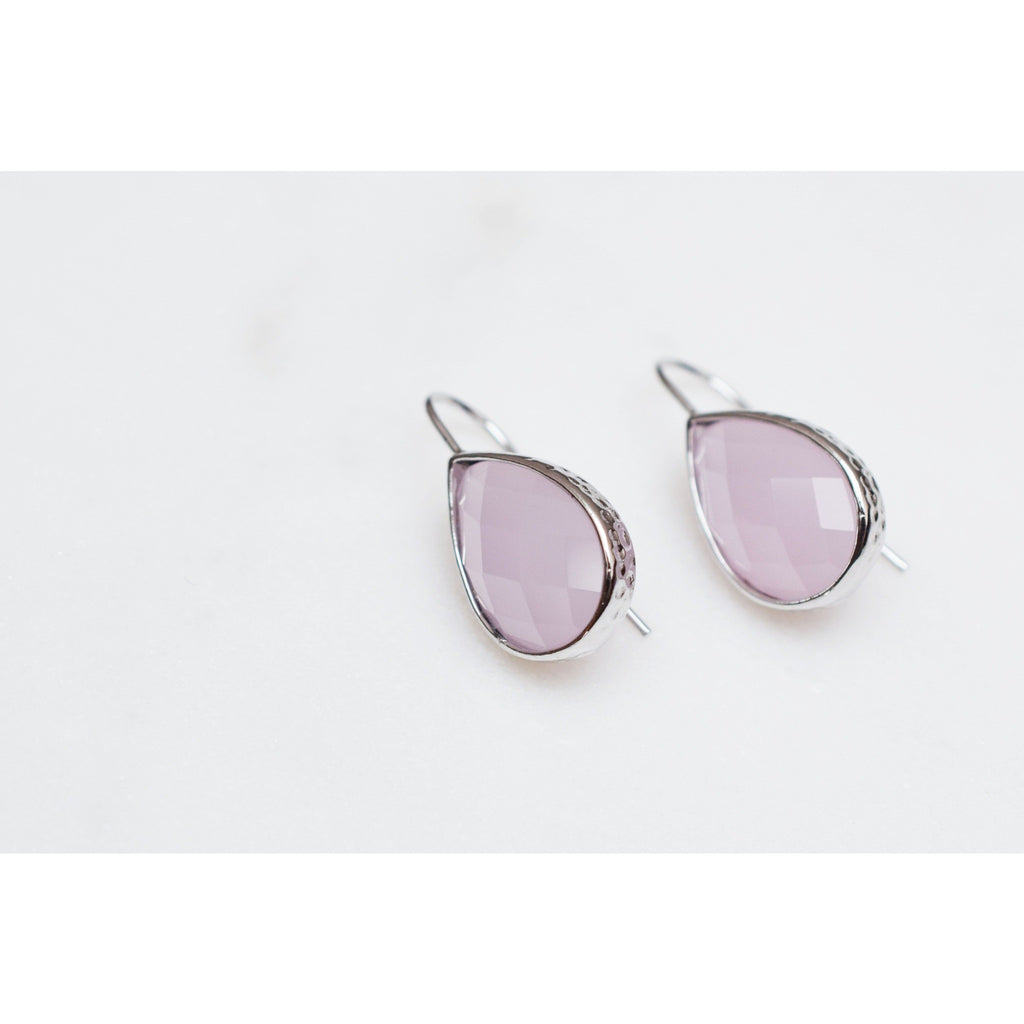 Drop Earring (silber) - NKdesigns - Christmas Gifts - Cadeaux Noel - The best Swiss online department store!