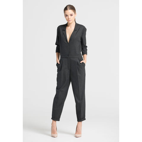 Checked Jumpsuit - Kollektiv on House of Shops - Shop Swiss!