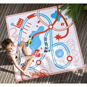 The Playmat - Road - TAPIKID - Kiddies Selection - Christmas Gifts - Cadeaux Noel - The best Swiss online department store!