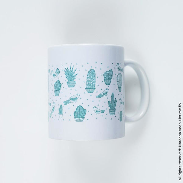 Cactus Mug - Let Me Fly - Christmas Gifts - Cadeaux Noel - The best Swiss online department store!