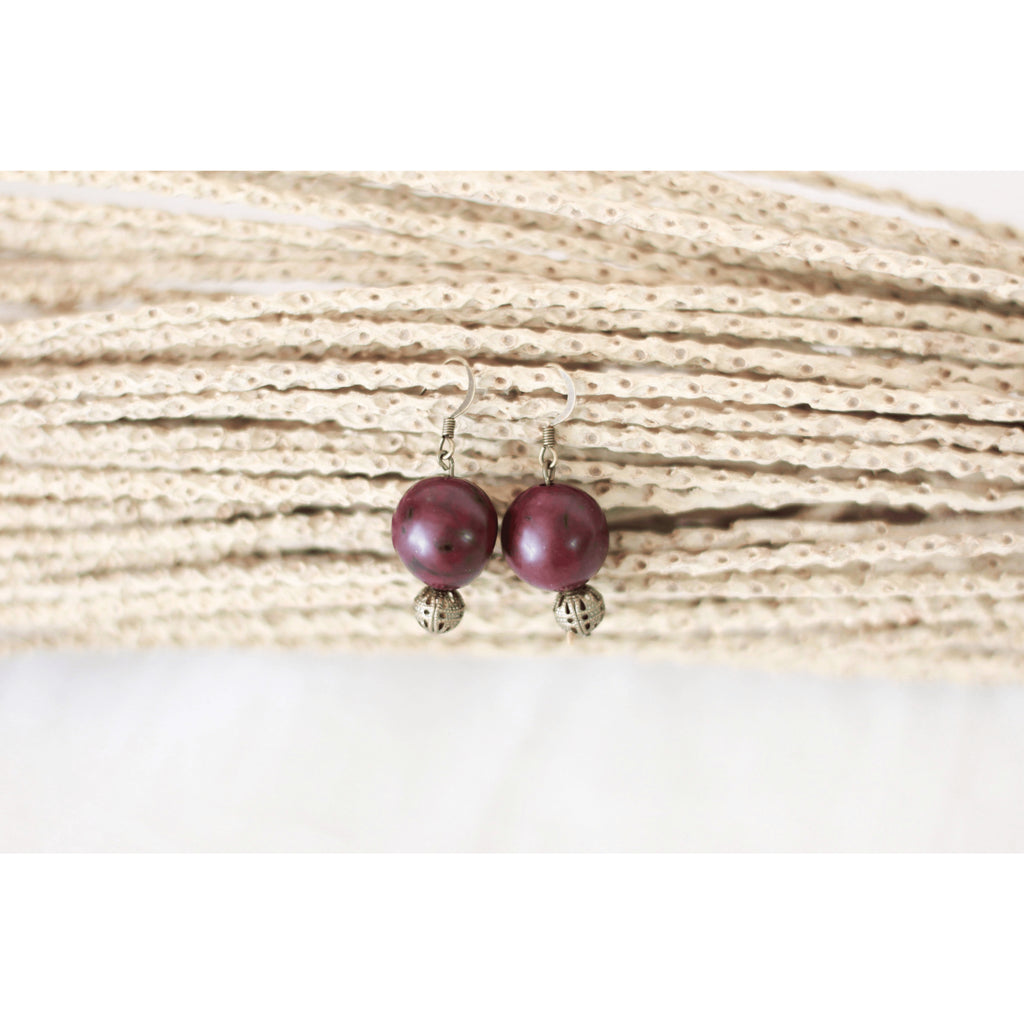 Boucles d'oreille cerise - JLBIO - Christmas Gifts - Cadeaux Noel - The best Swiss online department store!