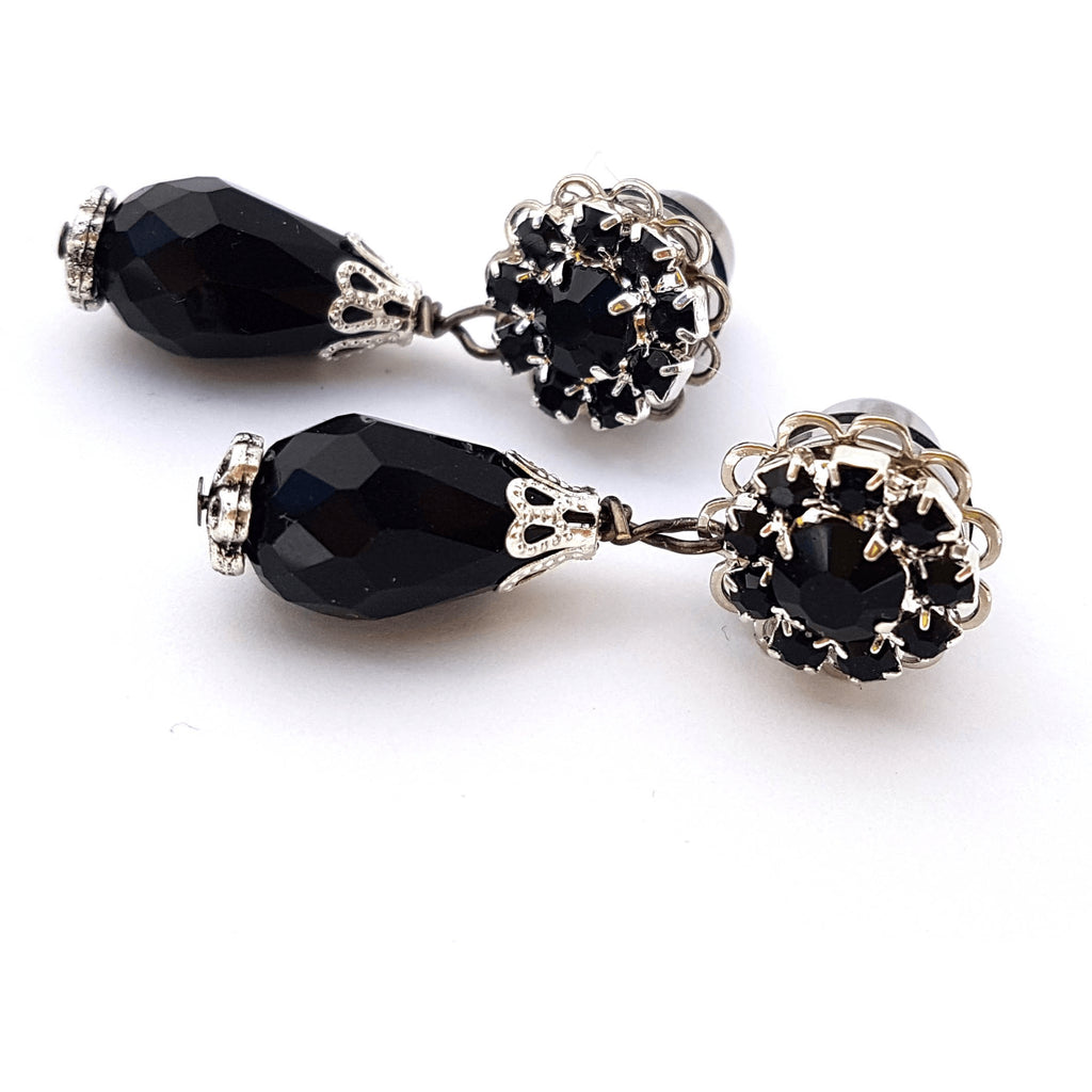 Dangle Plugs Black Elegance for Stretched Ears - Glamasaurus - Christmas Gifts - Cadeaux Noel - The best Swiss online department store!