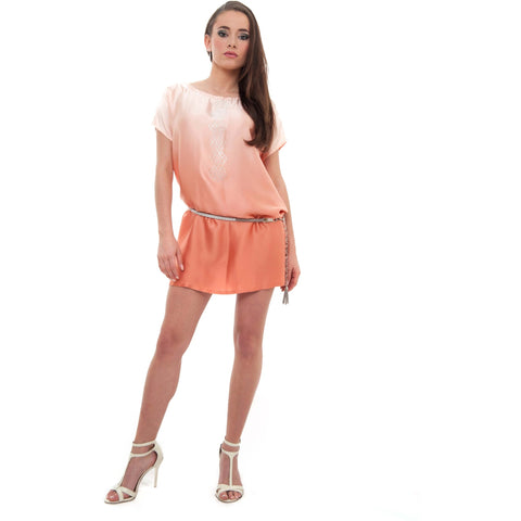 Exquisite Peachy Women's Tunic