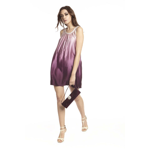 Modish Amethyst Gradient silk Tunic