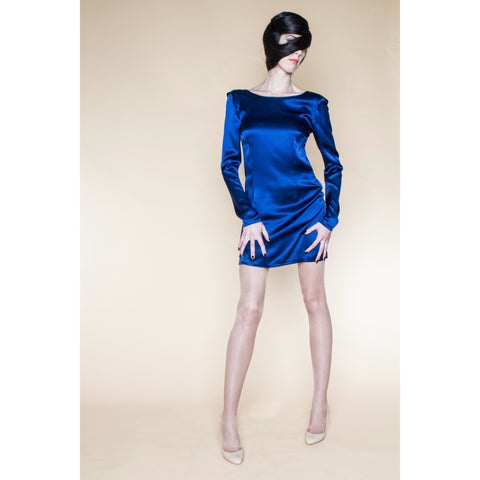 Ruffle Open Back Cocktail Dress - LIKOV - Christmas Gifts - Cadeaux Noel - The best Swiss online department store!