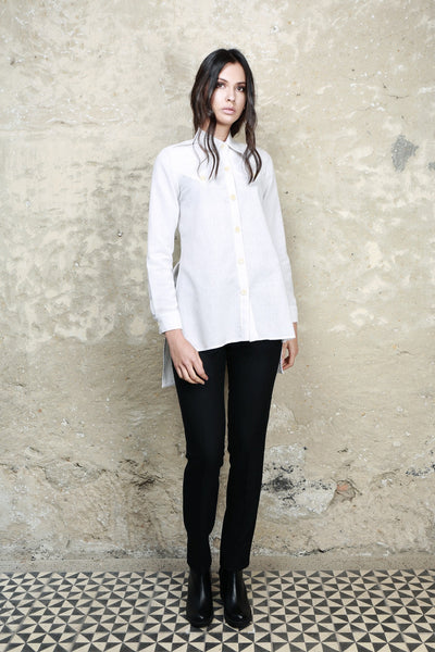 Sustainable Fashion Local Cotton White Shirt