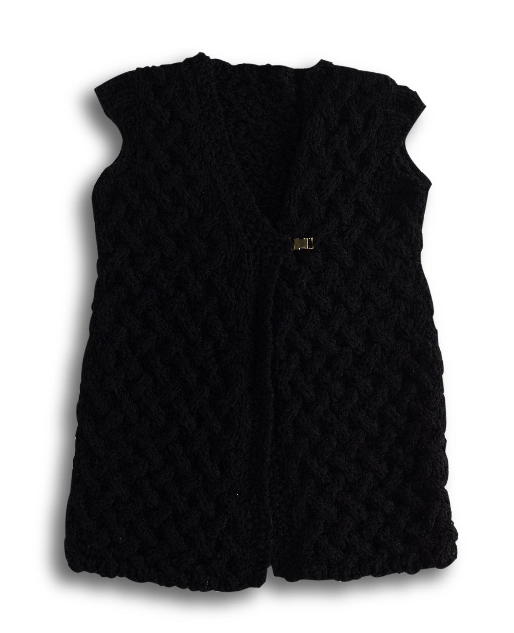 02 Sustainable Fashion Artisan Made Wool Vest