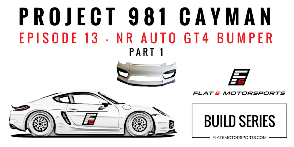 Project 981 Cayman - NR Auto GT4 Front Bumper (Episode 13)