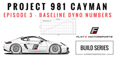 Project 981 Cayman - Baseline Dyno Runs (Episode 3)