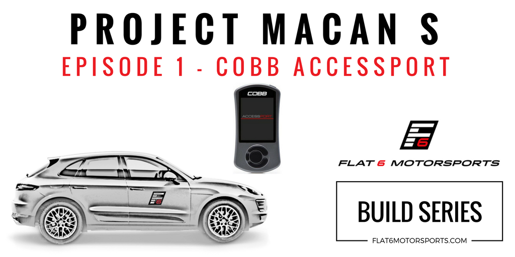 Project Macan S - Cobb Tuning Accessport (Episode 1) — Flat