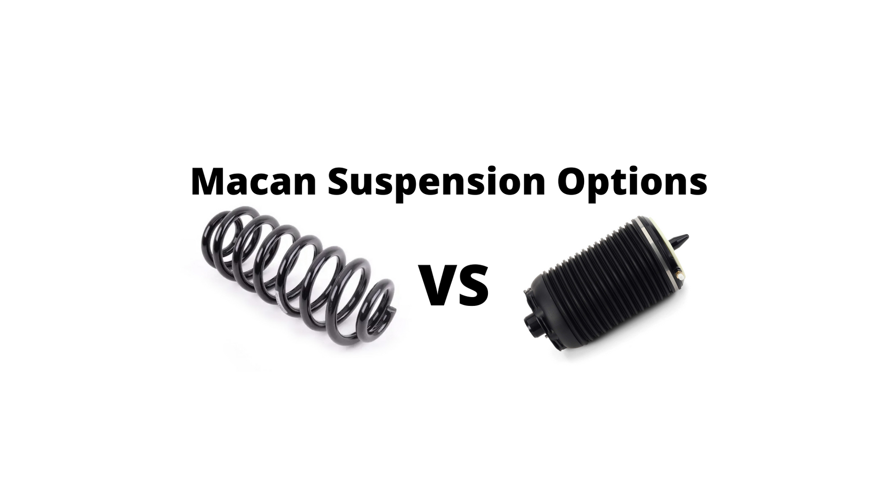 Macan Suspension Options: Lowering 101