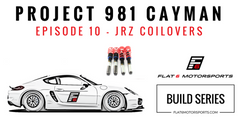 Project 981 Cayman - JRZ Suspension & Some Cosmetic Mods (Episode 10)