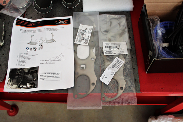 Soul Performance Instructions and OEM Header Gaskets