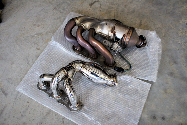 981 Cayman Agency Power Header vs OEM