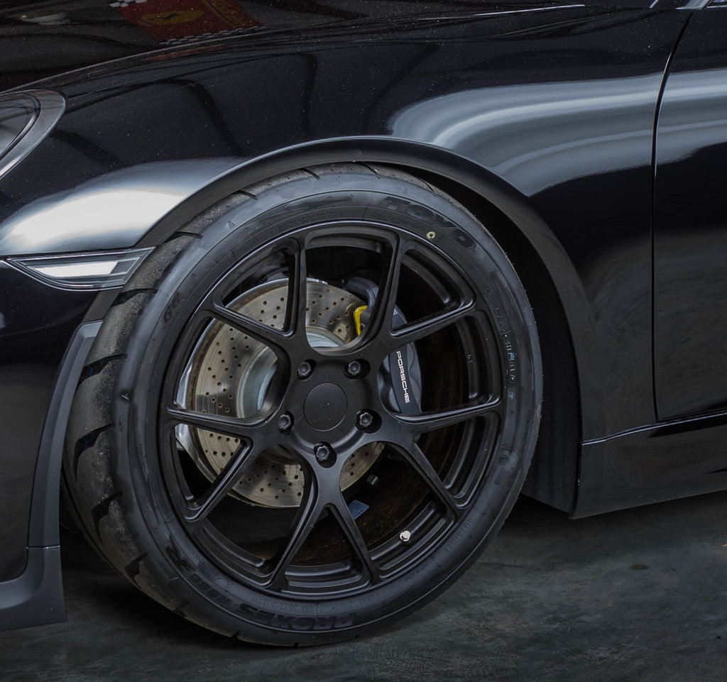 Flat 6 Motorsports - BC Forged RZ05 Installed