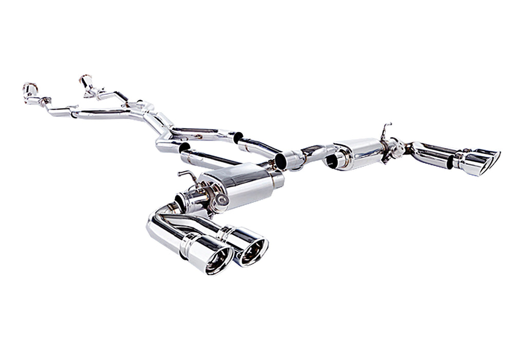 iPE Valvetronic Exhaust System (958 Cayenne S / Turbo)