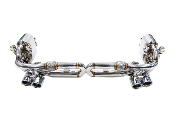 iPE Valvetronic F1 Exhaust System (991.1 Carrera / S) - Flat 6 Motorsports - Porsche Aftermarket Specialists