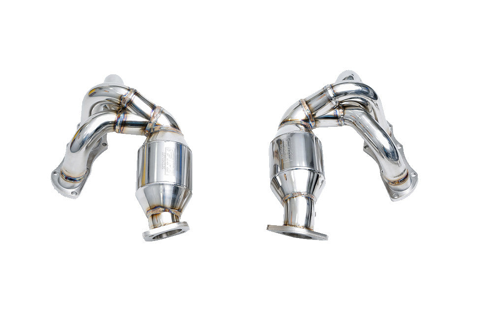 iPE Headers w/ 200 Cell Sport Cats (Cayman / Boxster 987.1
