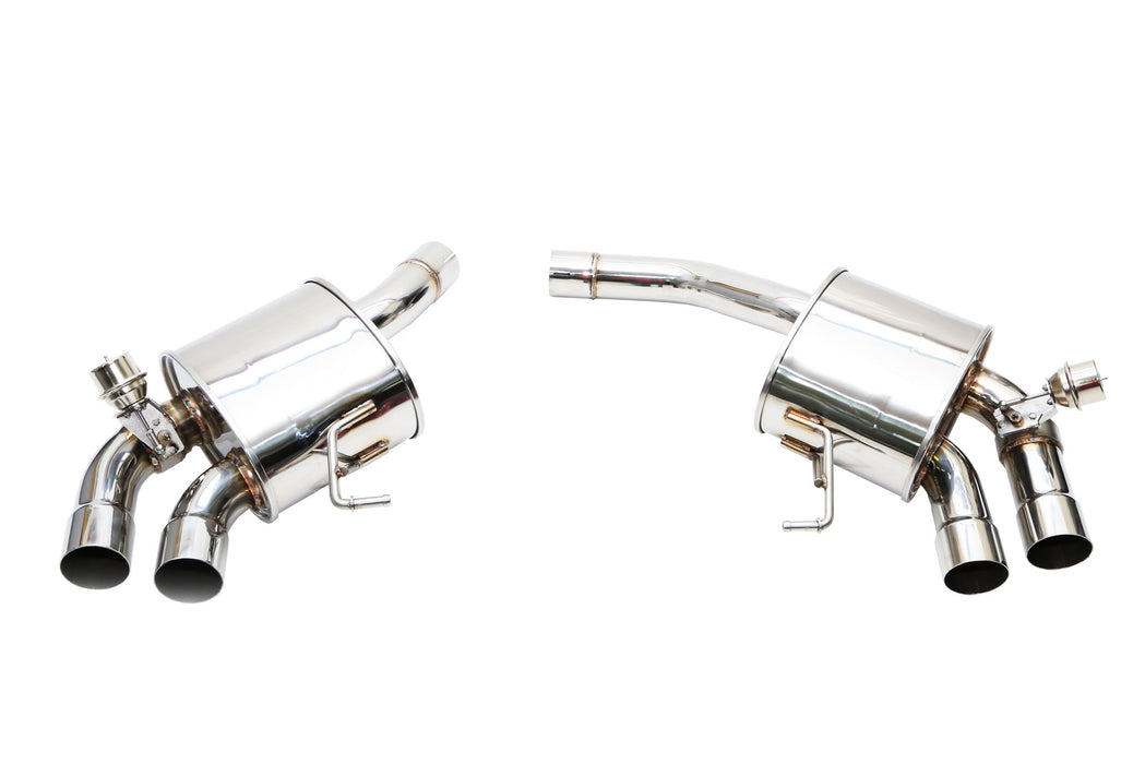 iPE Valvetronic Exhaust System - X-Pipe & Mufflers (Macan 2.0L) - Flat 6 Motorsports - Porsche Aftermarket Specialists