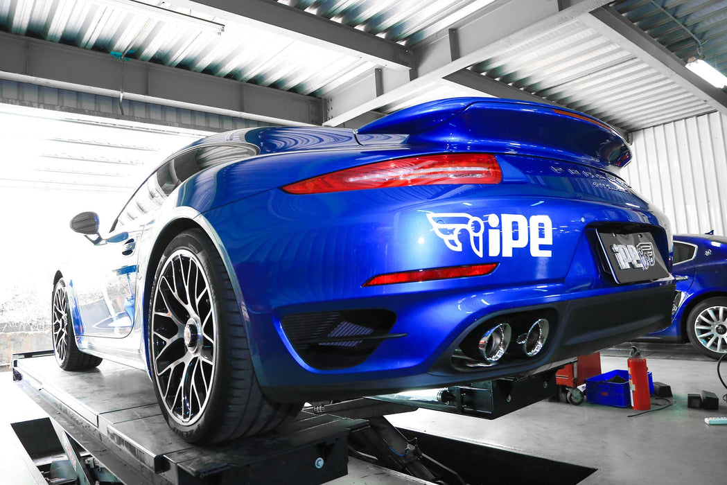 iPE Valvetronic Exhaust System (991 Turbo) - Flat 6 Motorsports - Porsche Aftermarket Specialists