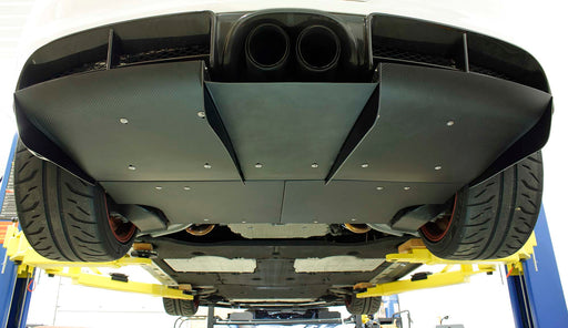Verus Engineering - Carbon Fiber Rear Diffuser (981 Cayman)
