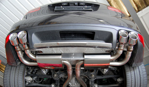 Milltek Cat-Back Exhaust System (Cayenne Turbo 958)