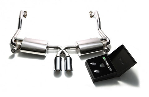 Armytrix Valvetronic Cat-Back Exhaust System (Cayman / Boxster 987.2)