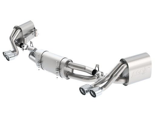 Borla S-Type Catback Exhaust System (991.1 Carrera) - Flat 6 Motorsports - Porsche Aftermarket Specialists