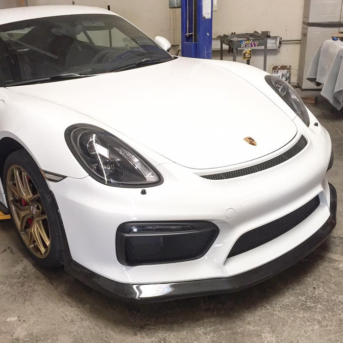 APR Performance Front Air Dam (981 GT4) - Flat 6 Motorsports - Porsche Aftermarket Specialists