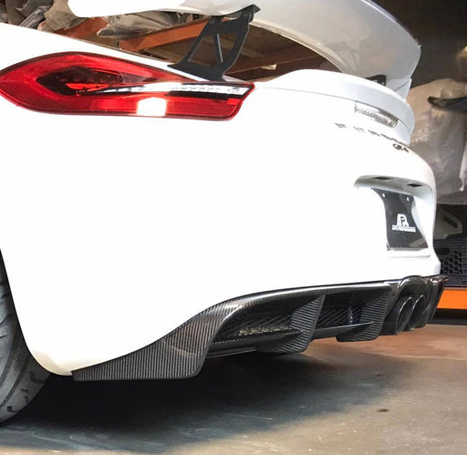 APR Performance Rear Diffuser (981 GT4) - Flat 6 Motorsports - Porsche Aftermarket Specialists