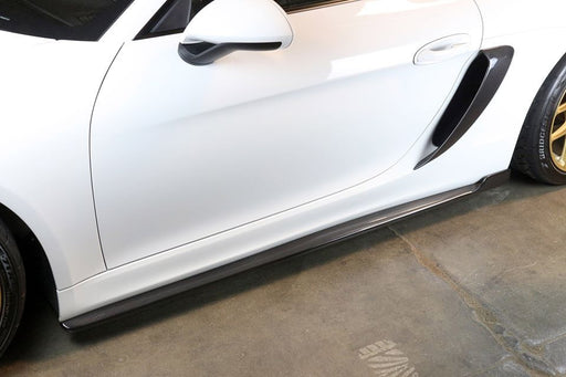 APR Performance Side Rocker Extensions (981 GT4) - Flat 6 Motorsports - Porsche Aftermarket Specialists