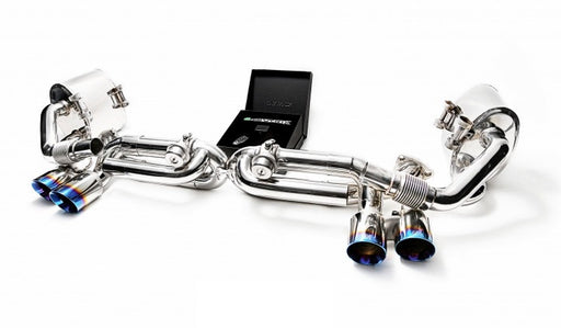 Armytrix Valvetronic Cat-Back Exhaust System (991.1 Carrera) - Flat 6 Motorsports - Porsche Aftermarket Specialists