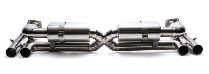 Armytrix Valvetronic Cat-Back Exhaust System (997.1 Turbo) - Flat 6 Motorsports - Porsche Aftermarket Specialists