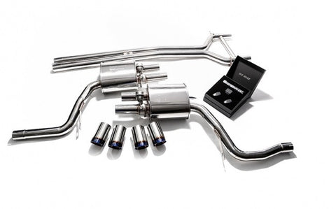 Armytrix Valvetronic Cat-Back Exhaust System (Panamera S 3.0L)
