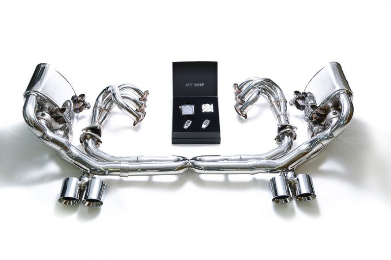 Armytrix Valvetronic Cat-Back Exhaust System (997.2 Carrera)