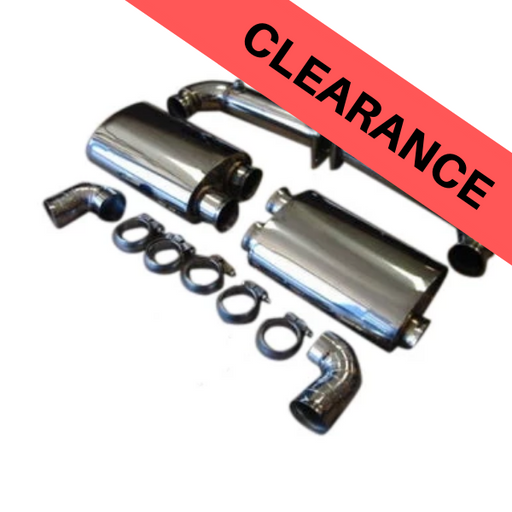 Top Speed Pro 1 Porsche Turbo Exhaust System (997.1 Turbo)
