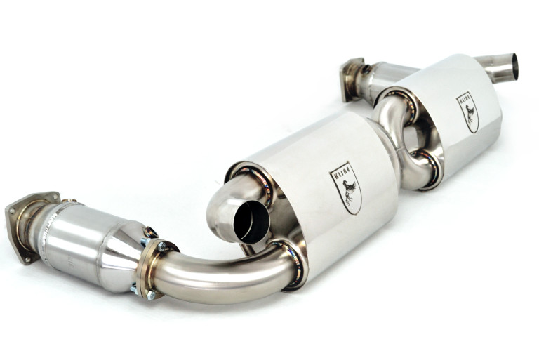 Kline Innovation Exhaust System (997.2 Turbo) - Flat 6 Motorsports - Porsche Aftermarket Specialists