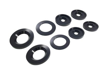 Torque Solution - Solid Rear Subframe Bushings (997)