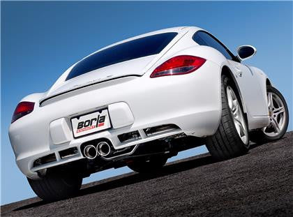 Borla S-Type Catback Exhaust System (Cayman / Boxster 987.2) - Flat 6 Motorsports - Porsche Aftermarket Specialists