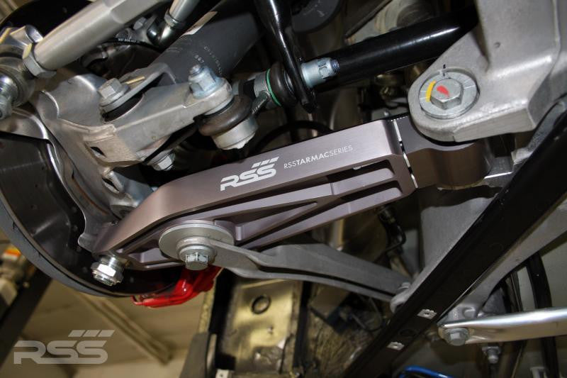 RSS Tarmac Series Lower Control Arms (996, 997, 987, 981) - Flat 6 Motorsports - Porsche Aftermarket Specialists