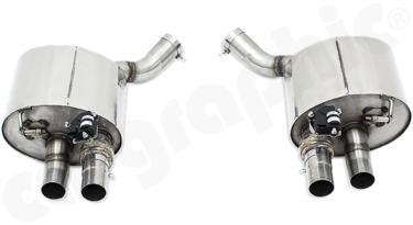 Cargraphic Sport Rear Silencers (Panamera 971)