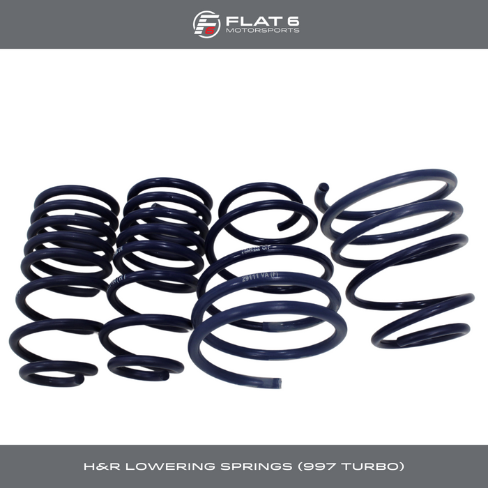 H&R Sport Springs (997 Turbo / C4S)