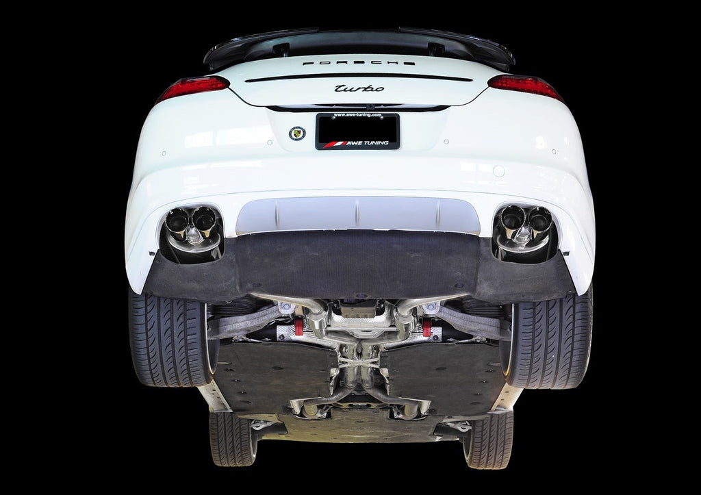 AWE Tuning Exhaust System (Panamera Turbo)