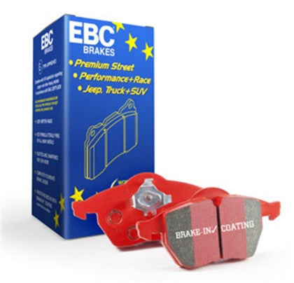 EBC Redstuff Ceramic Front Brake Pads (Cayman S / Boxster S 987) - Flat 6 Motorsports - Porsche Aftermarket Specialists