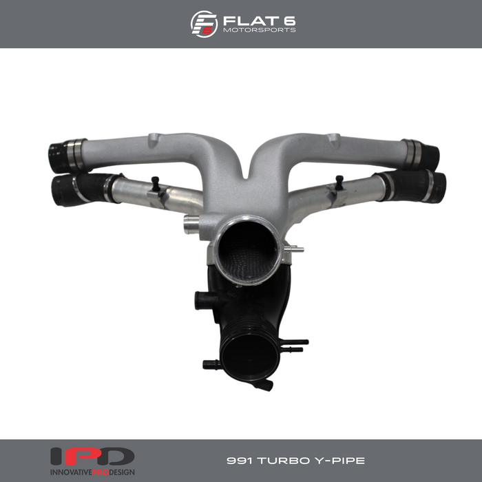 IPD High Flow Y Pipe (991 Turbo)